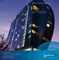 city Hotel - Radisson Blu