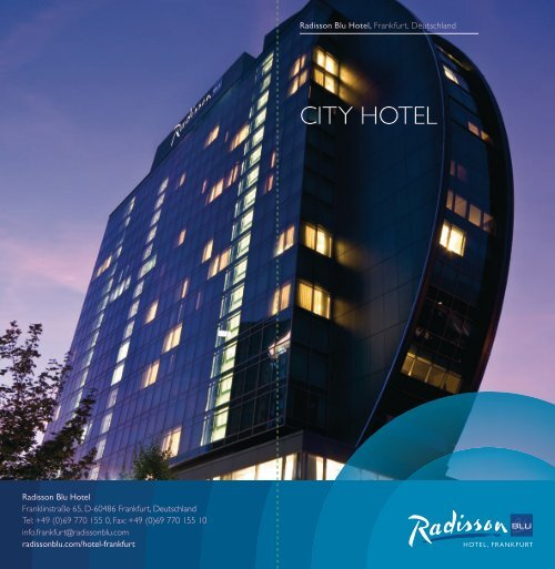 city Hotel - Radisson Blu