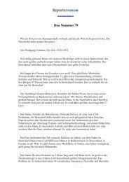 Deo Nummer 79 (PDF) - Reporter Forum