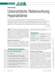 Unterschätzte Nebenwirkung Hyponatriämie - ratgeber-fitness.de