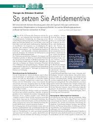 So setzen Sie Antidementiva richtig ein! - ratgeber-fitness.de