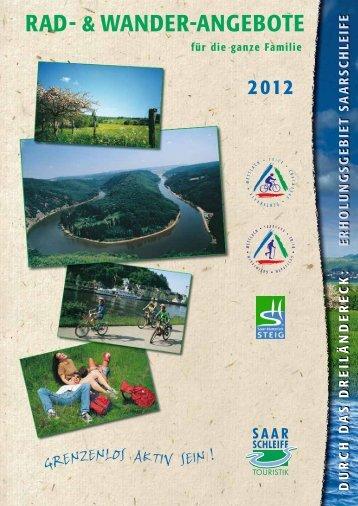 Katalog 2012 mit 12 Rad - Saarschleife Touristik GmbH - Gemeinde ...