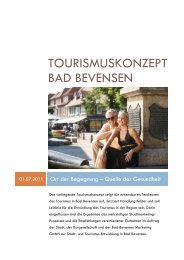 Tourismuskonzept Bad Bevensen - Amazon Web Services