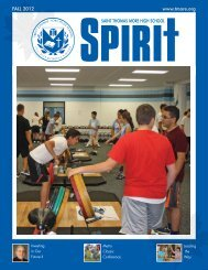Fall 2012 Issue - Thomas More High School
