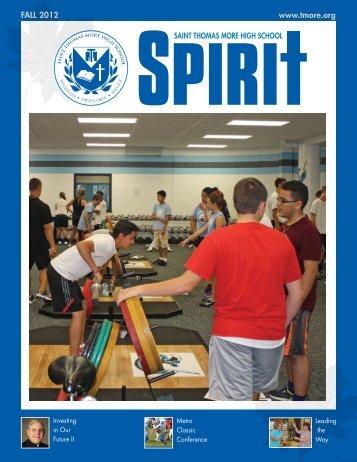 Fall 2012 Issue - Thomas More High School