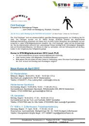 Weltgymnaestrada 2011 in Lausanne - Schwäbischer Turnerbund