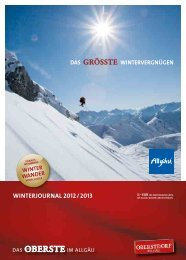 WINTERJOURNAL 2012 / 2013 - Amazon Web Services