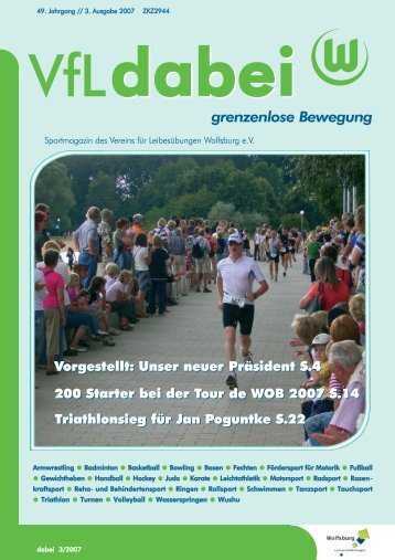 """Jubiläum: 10. """"Over the Top-Turnier"""" - Vfl-wob.de"""