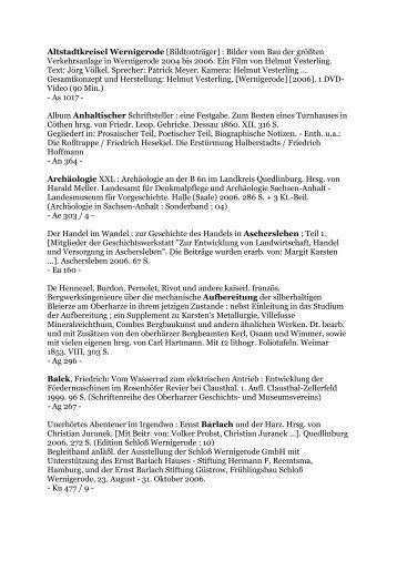 2006 (204.11 kB) - Wernigerode