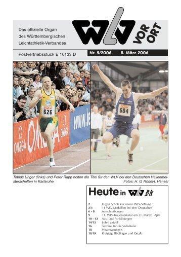 Ausgabe 05 - Württembergischer Leichtathletikverband