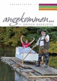 Gastgeberverzeichnis Nagold, Altensteig, Wildberg 2012/2013 [PDF, 4