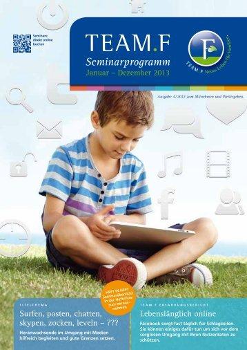 Magazin 1 - 2013 - Team.F