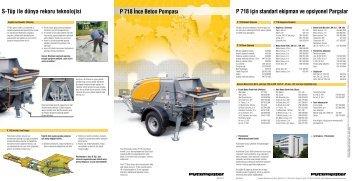 S-Tüp ile dünya rekoru teknolojisi P 718 - Putzmeister ...
