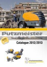 Catalogue 2012/2013 - Putzmeister Mörtelmaschinen GmbH
