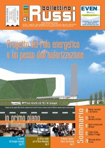 bollettino n. 2 2010 - Comune di Russi