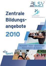 Jahresprogramm 2010 - U1 und U4-1.indd - blsv