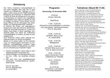 Flyer zum Workshop - Dr. Jochen Beck