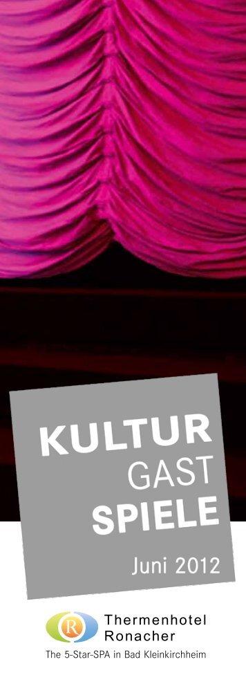 Große Bühnenstars und Kunst zu Gast im - Bad Kleinkirchheim