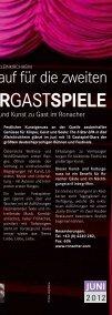 Große Bühnenstars und Kunst zu Gast im - Bad Kleinkirchheim - Seite 5