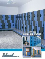 EXECUTIVE LOCKERS AND BENCHES - Keller Office