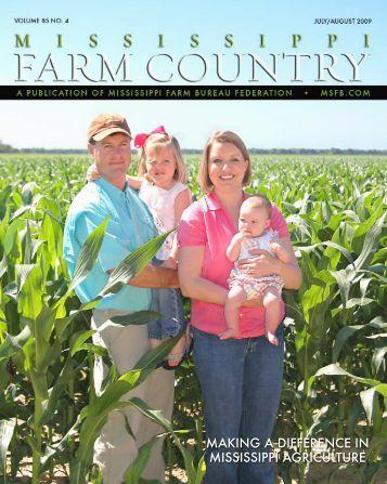 July/August-09:Layout 1 - Mississippi Farm Bureau Federation