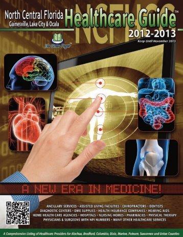 2013-2013 North Central Florida Healthcare Guide - Heritage ...