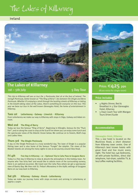The Sunny South East - Mangan Tours