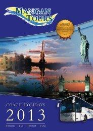 Brochure - Mangan Tours
