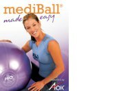 Improve muscle tone, core stability, relieve back pain ... - mediball