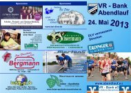 Flyer zum Download - VR-Bank Abendlauf