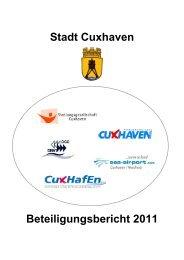 21 Beteiligungsbereicht 2011 - Stadt Cuxhaven