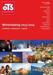 Winterkatalog 2013/2014
