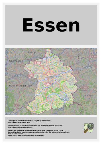 Oberhausen Mülheim an der Ruhr Bottrop Essen - MapOSMatic