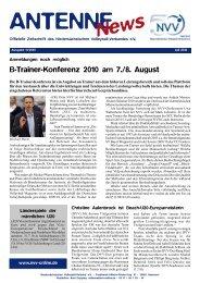 Ausgabe 11/2010 - NVV