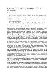 LUQAS II (Triplesensor) - Energetische Sanierung der Bausubstanz