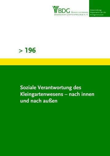 196 Teil 1 - Bundesverband Deutscher Gartenfreunde e. V.