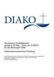 Qualitätsbericht 2006 - DIAKO Flensburg