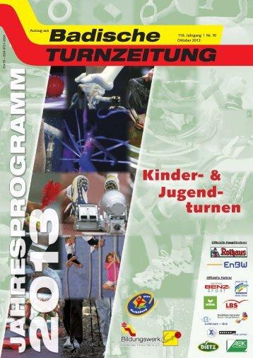Kinder- & Jugend- turnen - Badischer Turner Bund