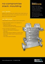 no-compromise stack moulding - Mold-Masters