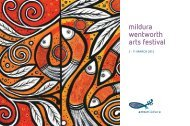 mildura wentworth arts festival