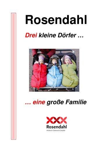 Muster Flyer A-Z kopie - in der Gemeinde Rosendahl