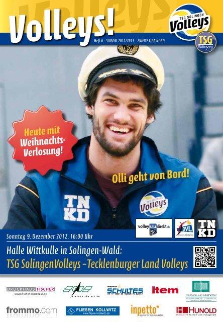 TSG SolingenVolleys – Tecklenburger Land Volleys