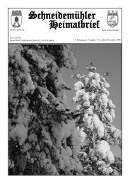 HB 3-6:heimatbrief v2.qxd - Heimatkreis Schneidemühl