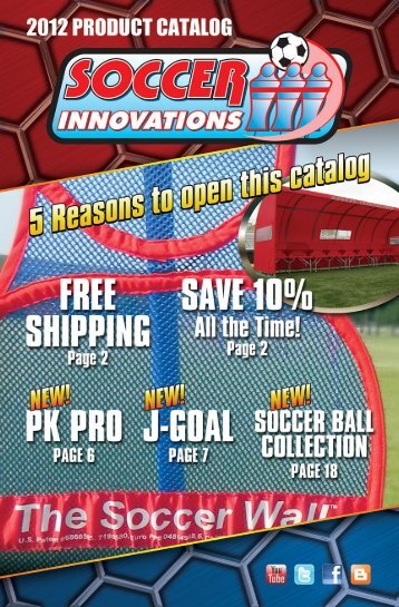 Download 2012 Catalog - Soccer Innovations