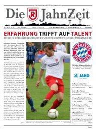 ERFAHRUNG TRIFFT AUF TALENT - SSV Jahn Regensburg