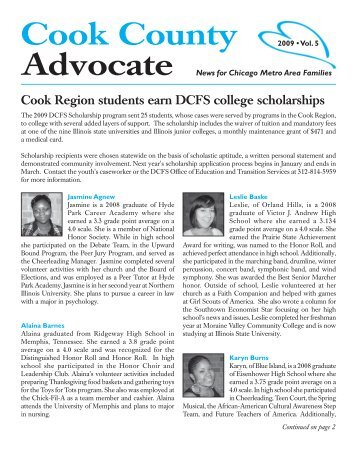 Cook County Advocate - State of Illinois