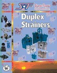 Catalog Duplex Strainers Nov02 - Sure Flow Equipment Inc.