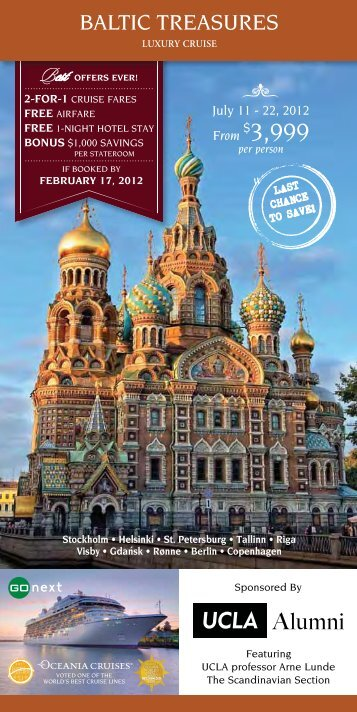 Download Brochure - UCLA Alumni Travel