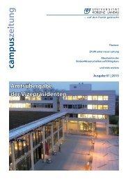 Campuszeitung herunterladen - Universität Koblenz · Landau