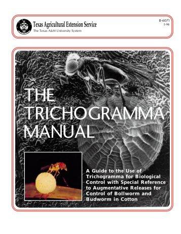 The Trichogramma Manual